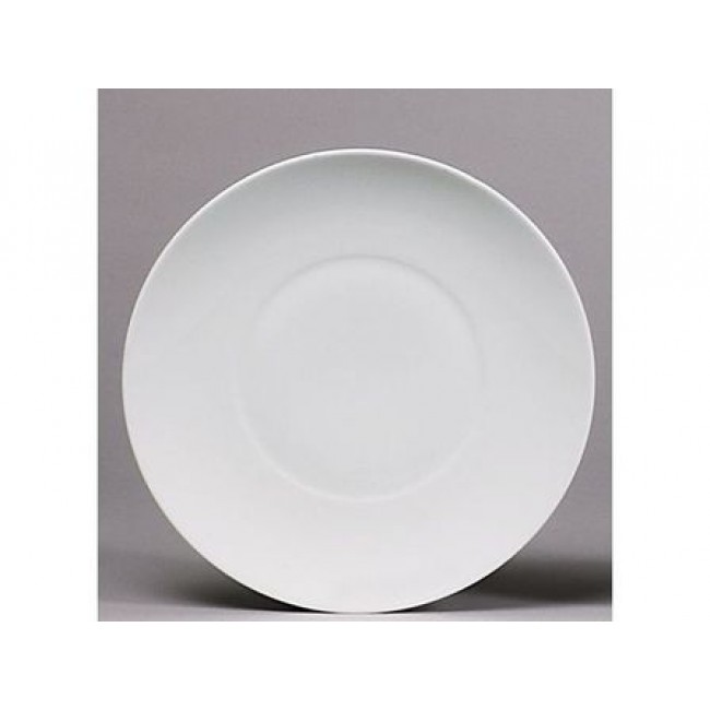 Assiette de présentation blanche 31cm