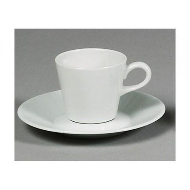 Sous-tasse à thé blanche 17cm