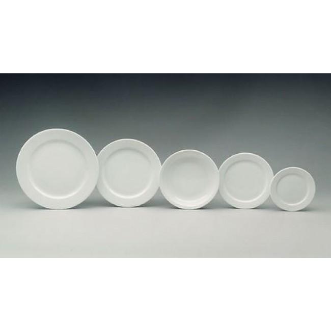 Assiette plate ronde blanche 27cm