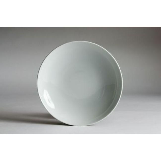 Assiette à pâtes blanche 26cm en porcelaine
