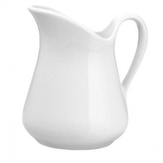 Pot Mehun blanc 10 cl en porcelaine - Pillivuyt