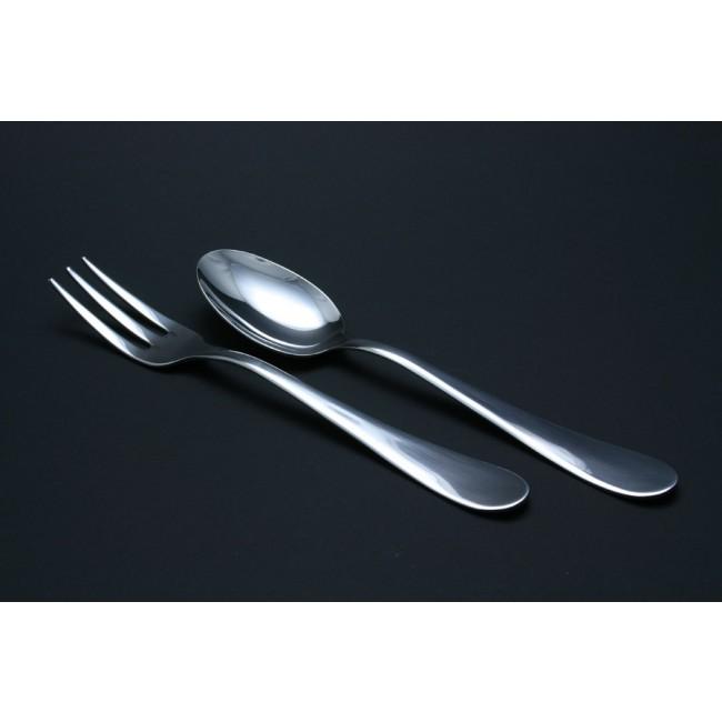 Cuillère de service à légumes en inox 18/10 - Natura - Mepra