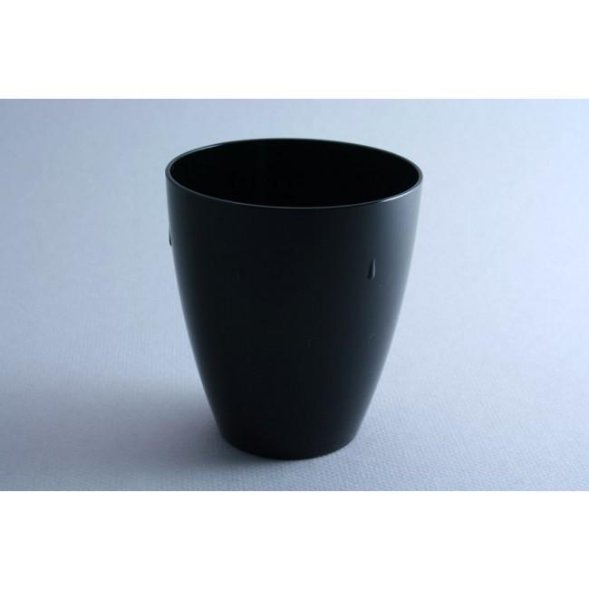 Gobelet noir 45cl en polycarbonate - Lot de 6