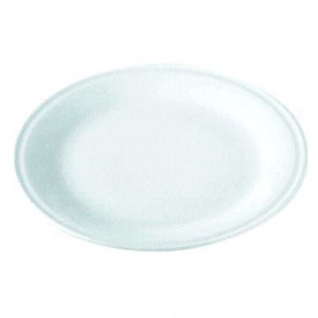 Assiette à pizza porcelaine blanche 30cm - Pillivuyt