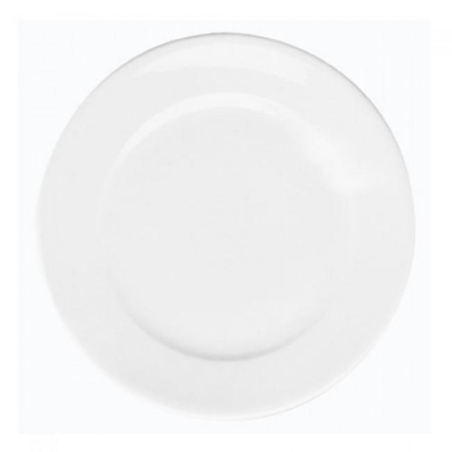Assiette plate ronde blanche 31cm en porcelaine - Paris - Pillivuyt