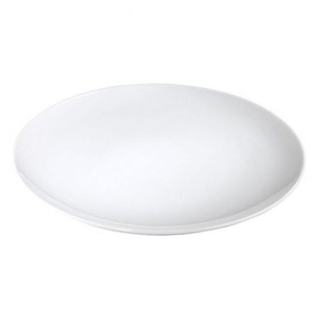 Assiette plate ronde blanche 31cm en porcelaine - Louna - Pillivuyt