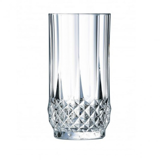 Gobelet forme haute 28cl en cristallin - Longchamp - Eclat Cristal d'Arques