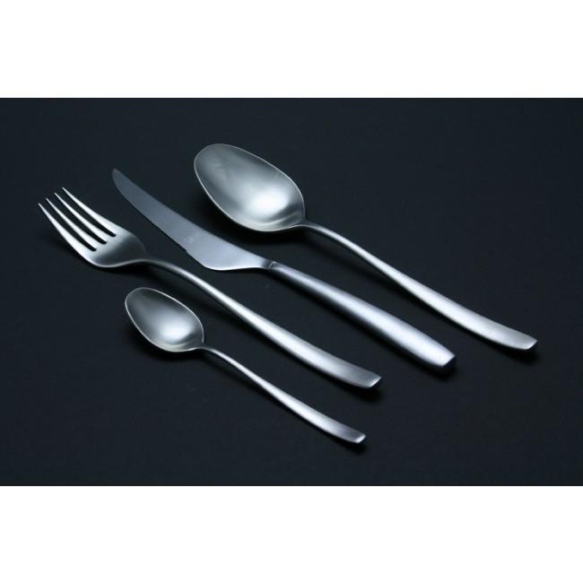Fourchette de service à salade en inox 18/10 - Avangarde brossé Ice - Mepra