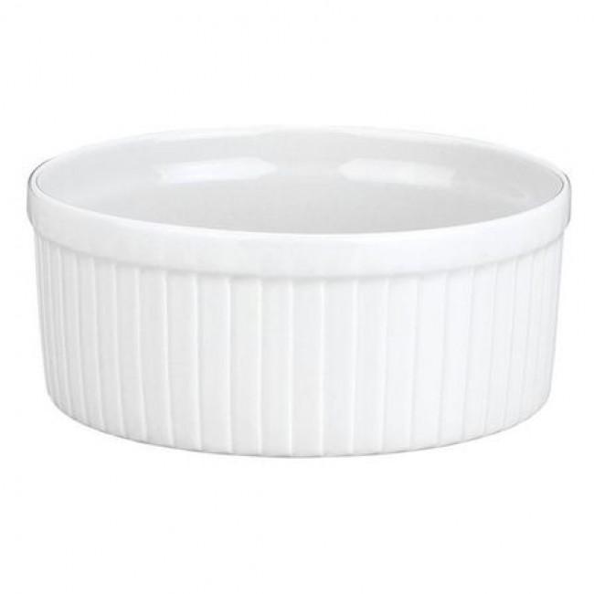 Moule à soufflé blanc 30cl en porcelaine 10cm - Pillivuyt