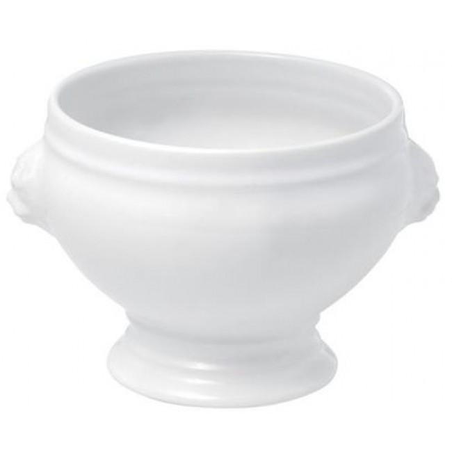 Soupière tête de lion 315cl blanche en porcelaine - Pillivuyt