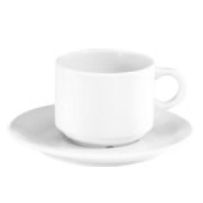 Tasse à moka blanche 10cl en porcelaine - Pillivuyt