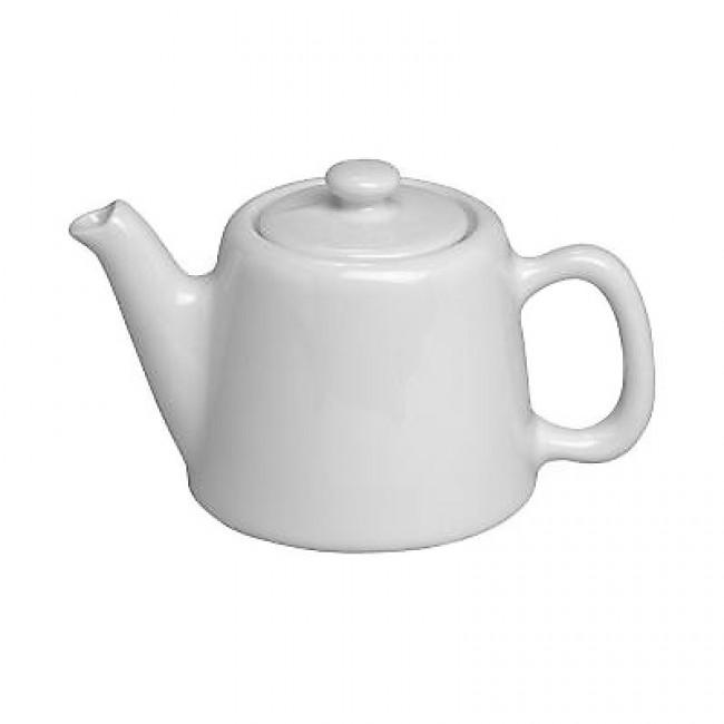Théière standard 2 tasses en porcelaine blanche 35cl - Pillivuyt