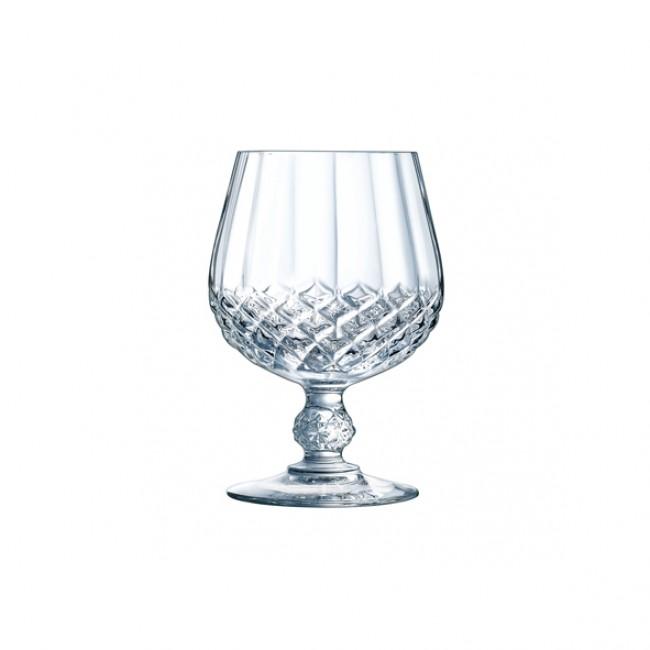 Verre à digestif - Cognac 32cl en cristallin - Lot de 6 - Longchamp - Eclat Cristal D'Arques