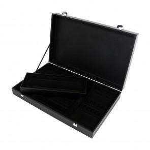 Coffret en bois noir pour ménagère 48 à 51 pièces