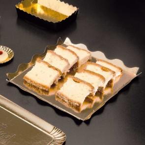 Dentelle cartonnée or et noir pour pâtisserie - 19 x 19cm - Lot de 50 - Carton à pâtisserie - AZ Boutique