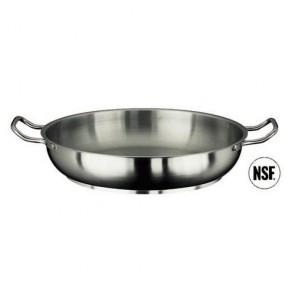 Poêle à paella induction en inox 18/10 - Ø 20 cm - Série 1000 - Paderno