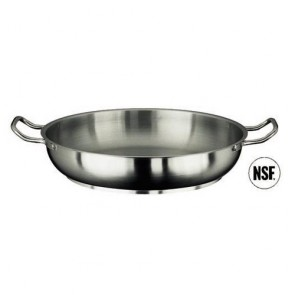 Poêle à paella induction en inox 18/10 - Ø 24 cm - Série 1000 - Paderno