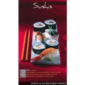"""Livre """"Sushis"""" - 95 pages - Delta 2000 - Saep"""