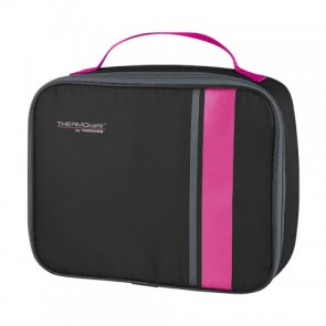 Lunch bag isotherme noir et rose - Neo - Thermos