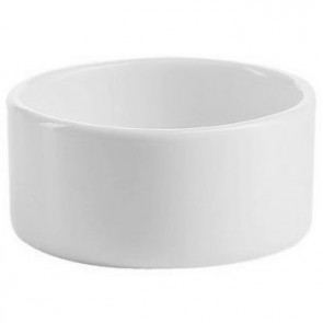Coupelle ronde 6cl en porcelaine 6,5 x 6,5 cm blanche - Purity Divinity - Chef & Sommelier