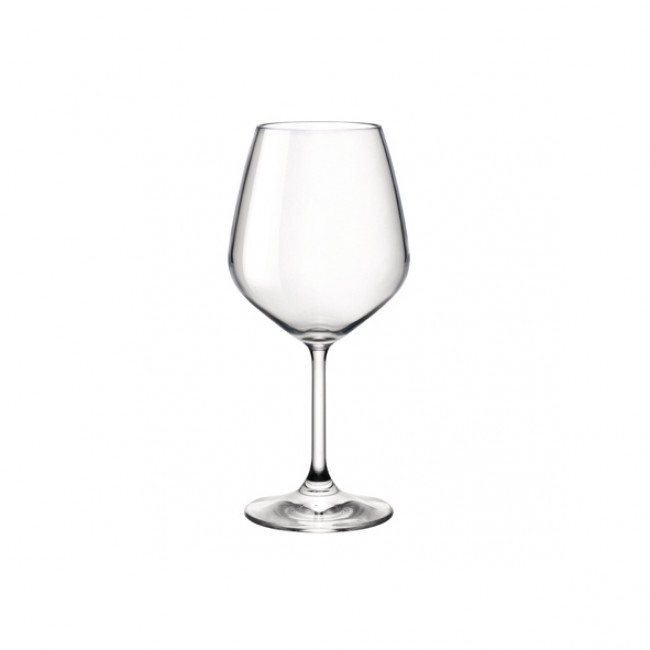 Verre à vin rouge 52.5cl transparent - Lot de 2 - Restaurant - Bormioli Rocco