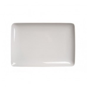 Assiette plate rectangulaire 26x18cm blanche - Modulo - Guy Degrenne
