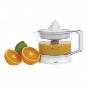 Presse-agrumes électrique 40 W plastique blanc transparent - Presse-fruits - Lacor