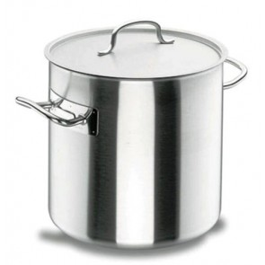 Marmite traiteur induction à couvercle inox 18/10 - Ø 28 cm - Chef Classic - Lacor