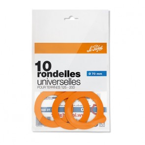 Set de 10 rondelles universelles 70mm - super - le parfait