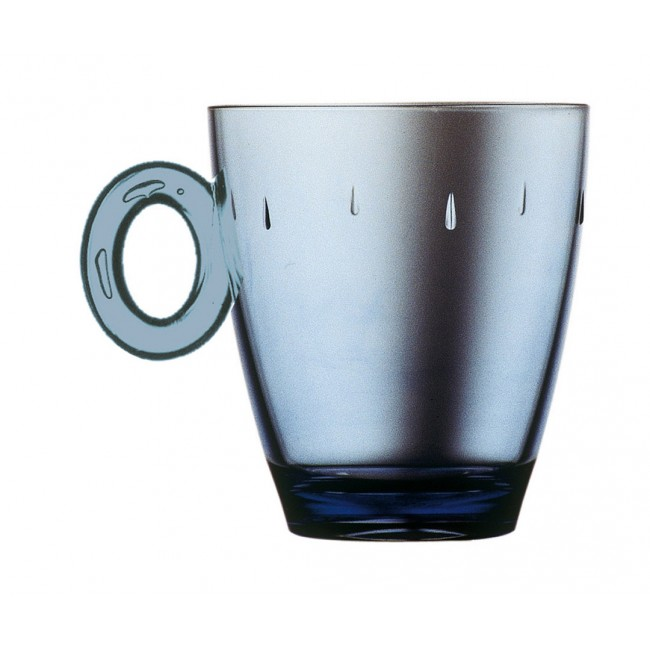 Mug saphir 33cl en polycarbonate - Lot de 6