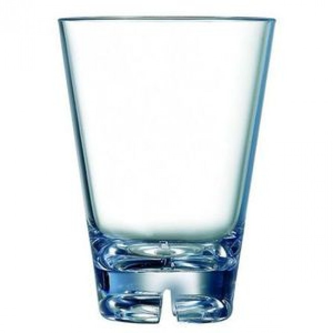 Verre forme basse en polycarbonate 30cl - Lot de 6 - Outdoor - Arcoroc