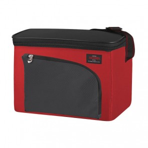 Sac isotherme/Cooler bag 4L 6 can noir et rouge - Cameron - Thermos