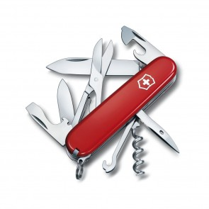 Couteau suisse climber 14 fonctions rouge - victorinox