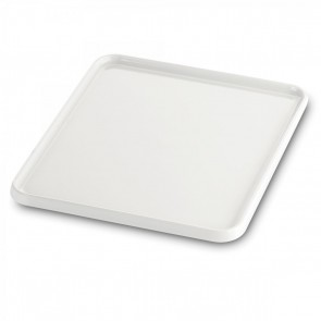 Plateau rectangulaire GN 2/3 32.5X35.4cm blanc en porcelaine - Evento - Guy Degrenne