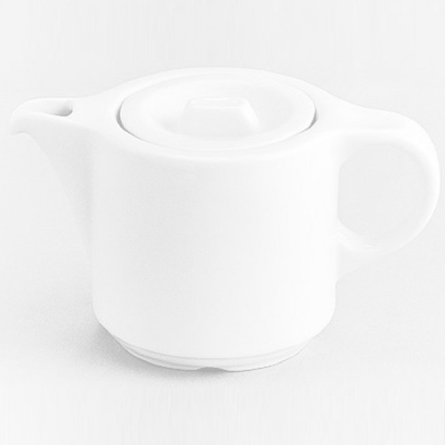 Théière Europe blanche 55cl en porcelaine - Europe - Pillivuyt