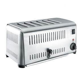 Grille-pain buffet inox 2, 4 ou 6 tranches - 3240w - Grille-pain - Lacor