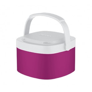 Porte aliment isotherme 35cl rose - Stack N Lock - Thermos